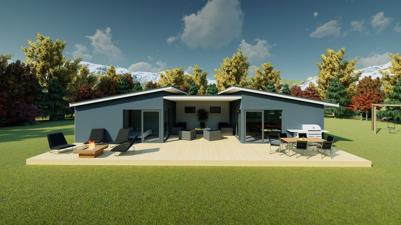 3118S - 3 bedrooms house plan